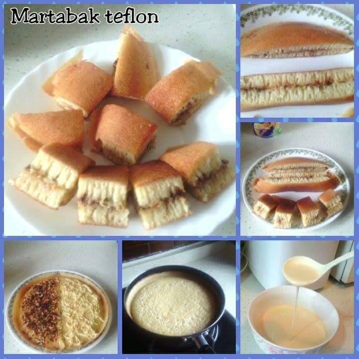 Resep Martabak Teflon Lezat Dan Praktis Makanan Resep Resep Kue