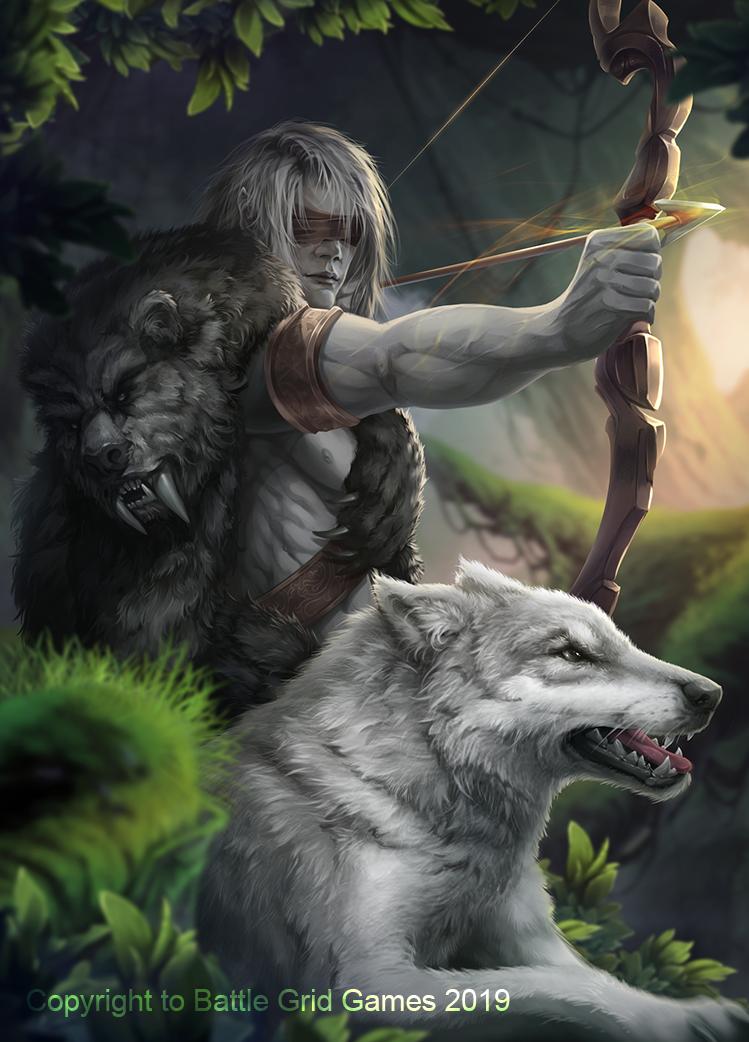 Zyrenzen the Blind by https://www.deviantart.com/tira-owl on @DeviantArt |  Game art, Art, Fantasy props