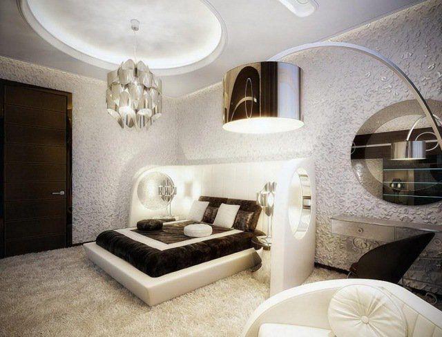 éclairage Chambre à Coucher Cool En Lustre Et Lampadaire