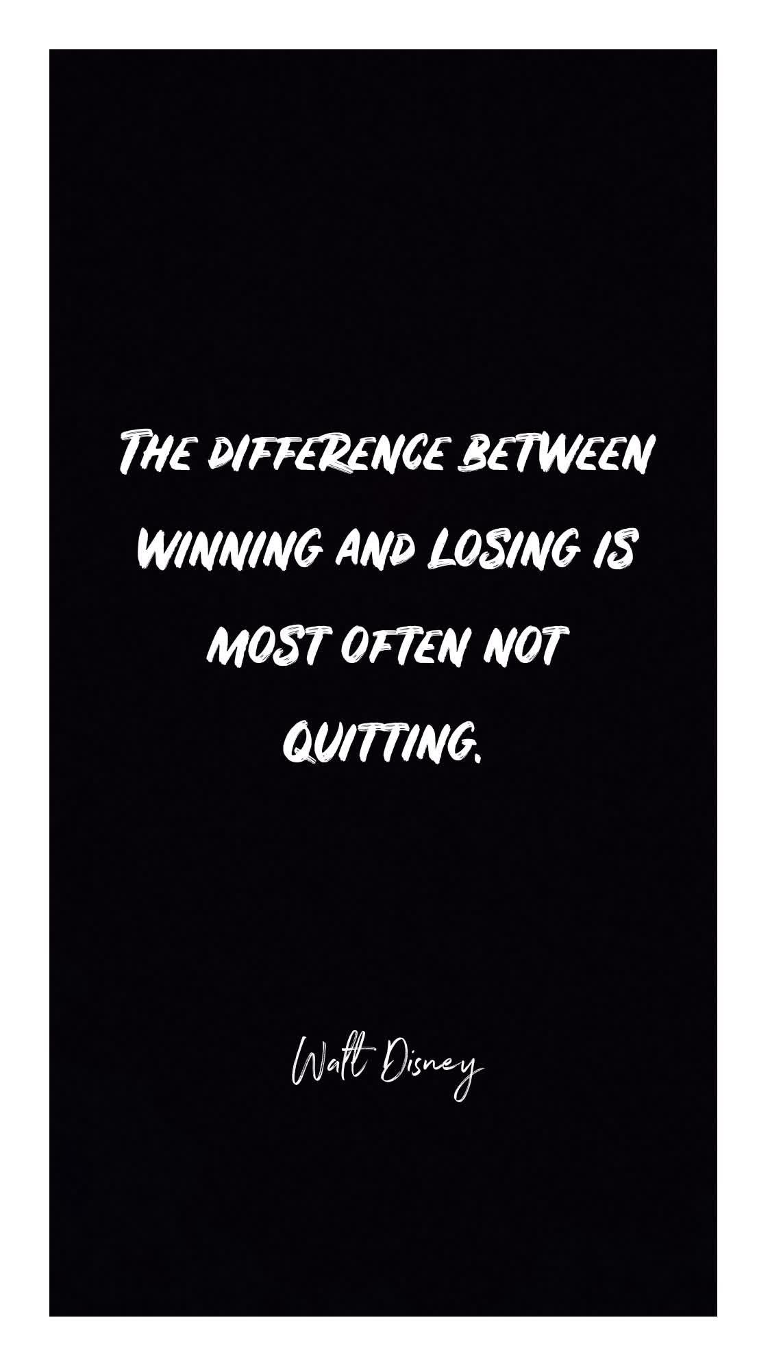 Difference Between Winning And Losing Motivational Quotes Motivational Quotes For Success Good Thoughts