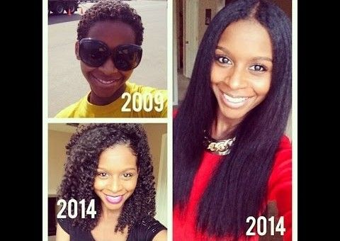 Natural Hair Journey 2009-2014