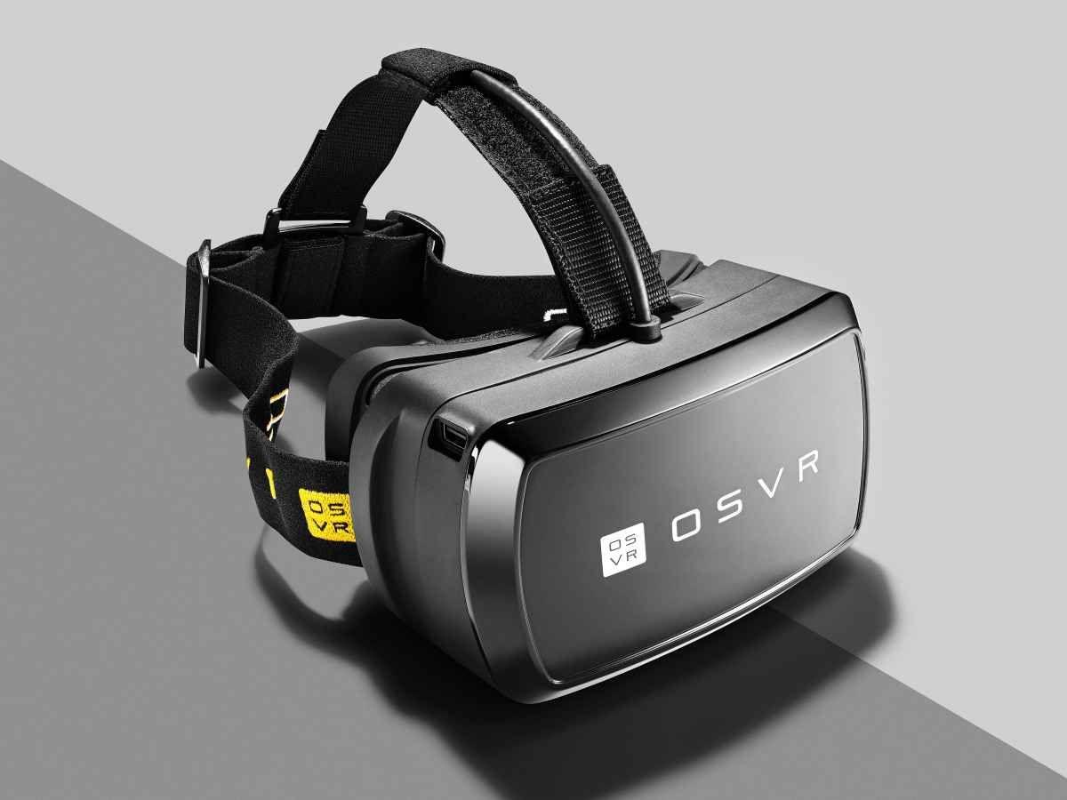 Razer Osvr Is A Printable Hackable Virtual Reality Headset Virtual Reality Headset Virtual Reality Glasses Virtual Reality Technology