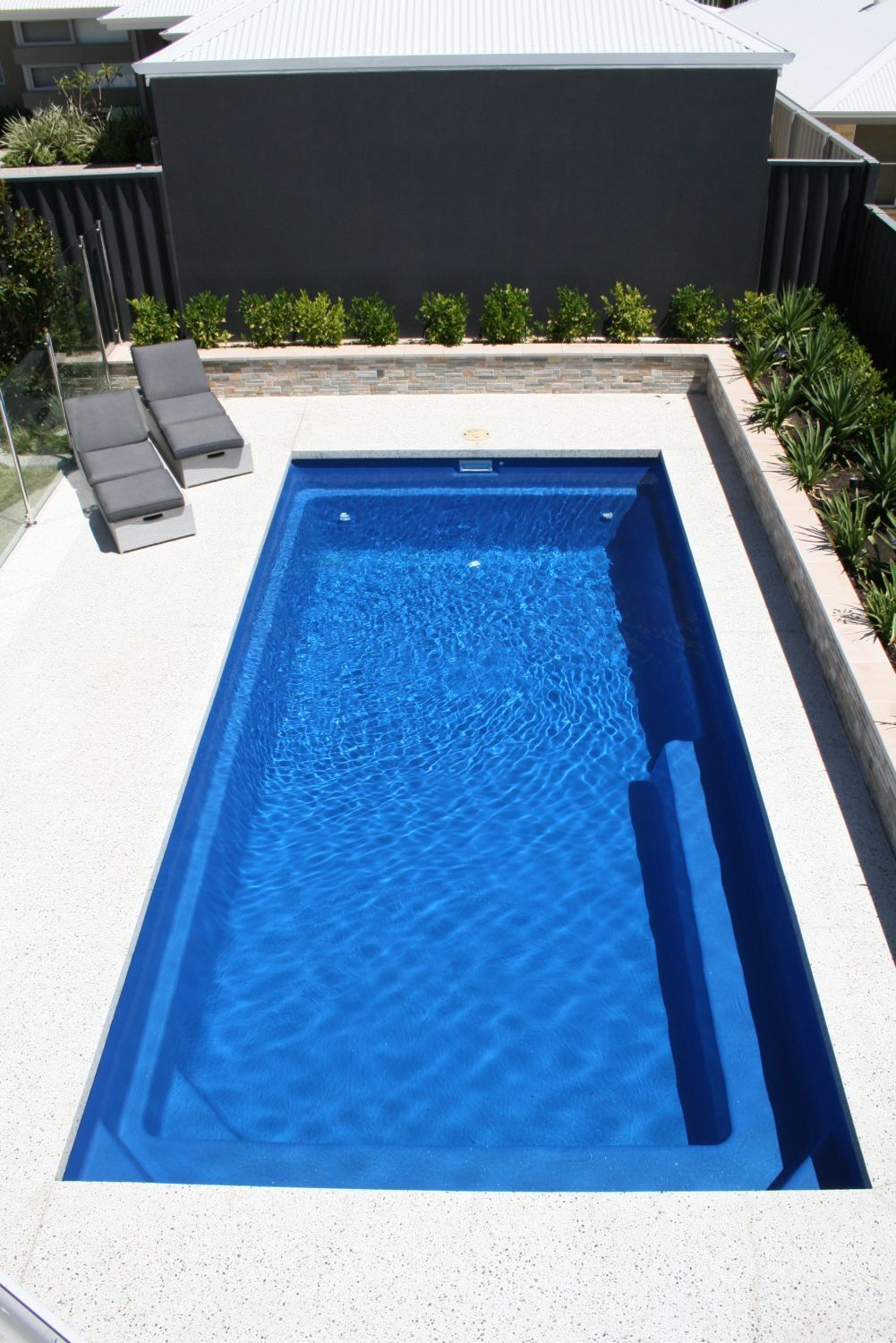 Decorative Concrete Pool Surrounds Options Add Value With