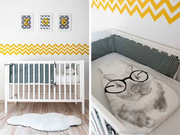 1000 images about chambre jaune on pinterest cloud pillow grey and bebe - Decoration Chambre Bebe Jaune