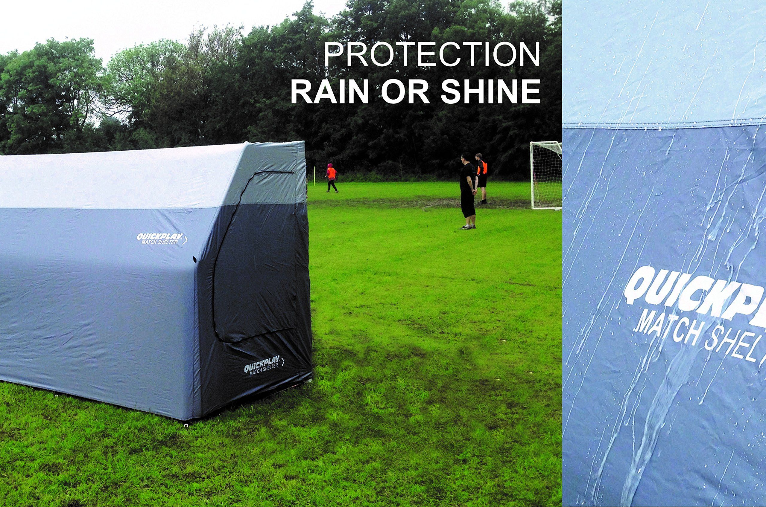 Personal Portable Shelter : Quickplay portable dugout sports shelter easy set up
