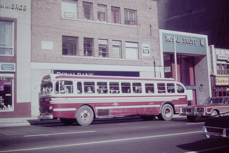 TTC BRILL BUS TORONTO 1972