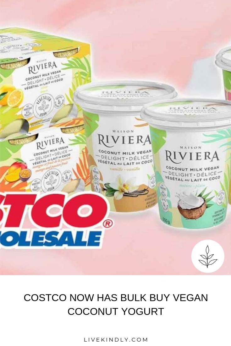 Costco Now Carries Dairy Free Coconut Yogurt Made By Canadian Brand Riviera The New Yogurt Joins A Growing List Of V Vegan Supermarket Vegan News Vegan Costco