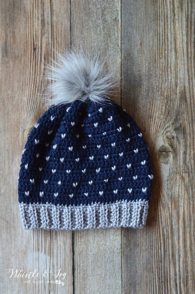Crochet Snowfall Slouchy Hat | Crochet Time | Pinterest | Mütze ...