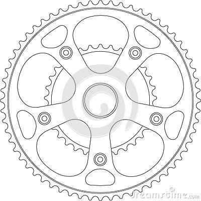 Dirt Bike Gear Diagram