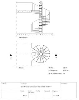 Tecnologia Y Sistemas Constructivos Escaleras Plano De Escalera De Caracol Escaleras Detalles Constructivos