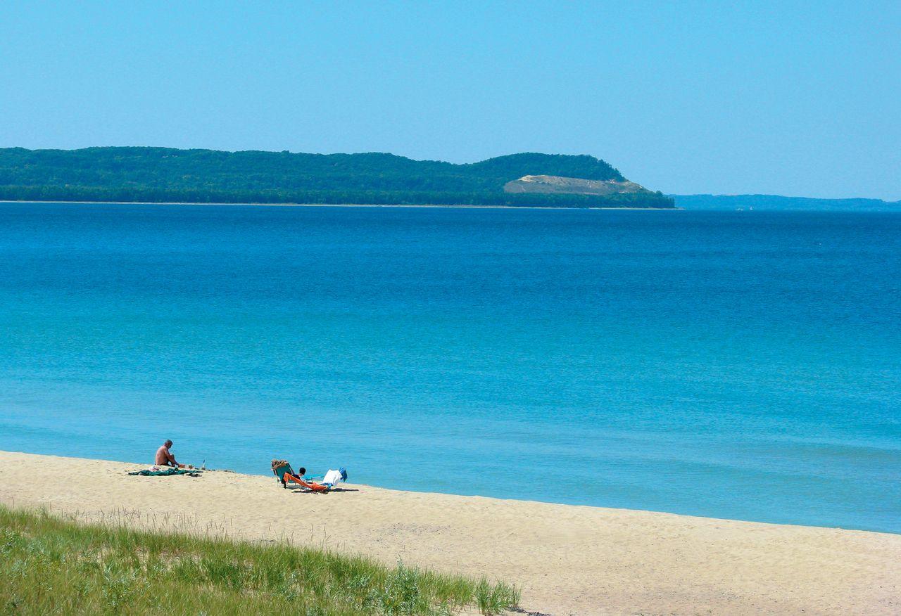 Good Harbor Bay Beach In Glen Arbor Mi