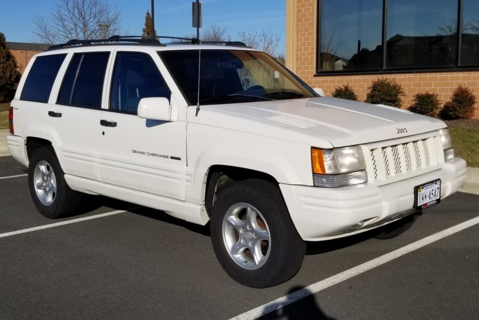 No Reserve 1998 Jeep Grand Cherokee 5 9 Limited In 2020 1998 Jeep Grand Cherokee Jeep Grand Jeep Grand Cherokee