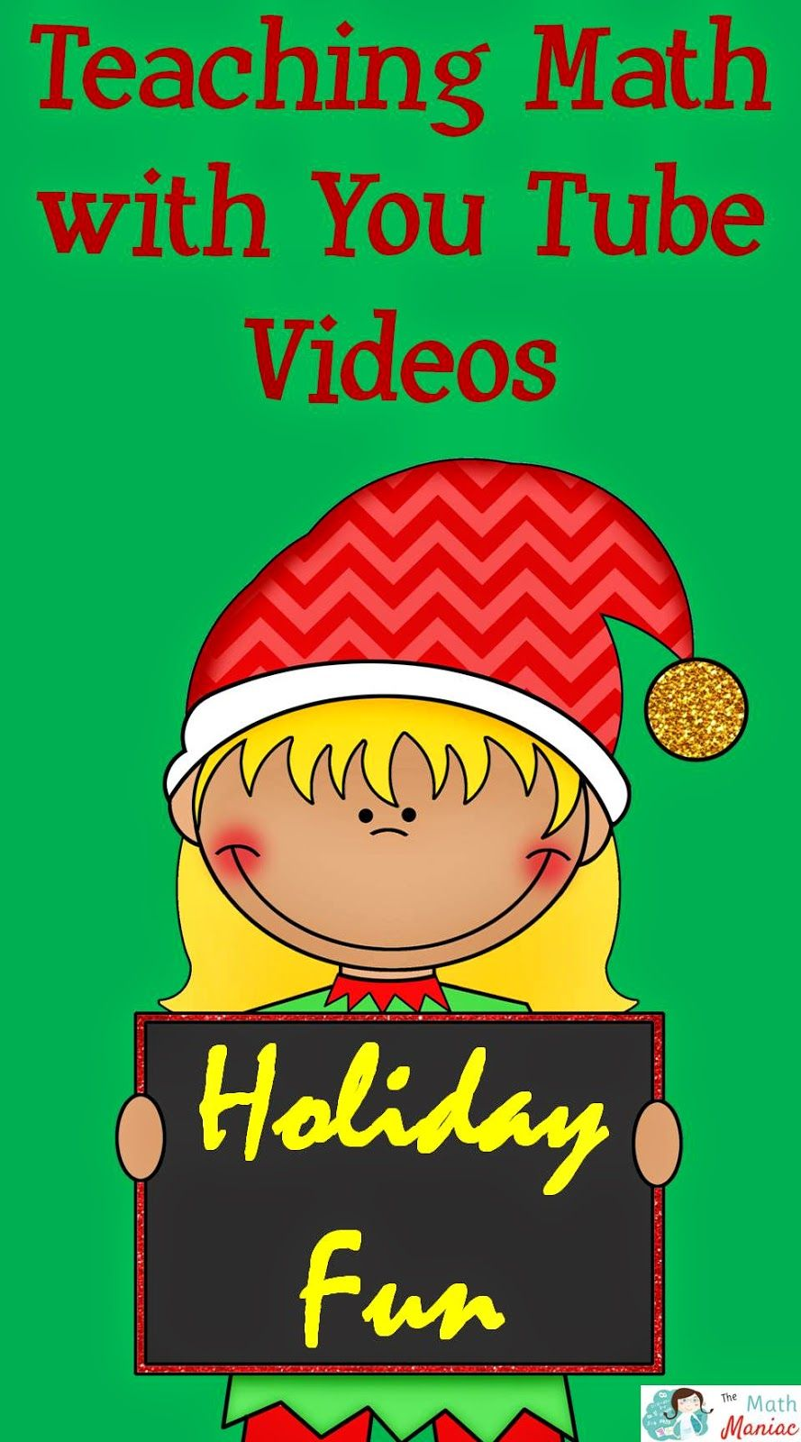 A few of my favorite Christmas themed videos and songs for teaching math and for having fun in December!