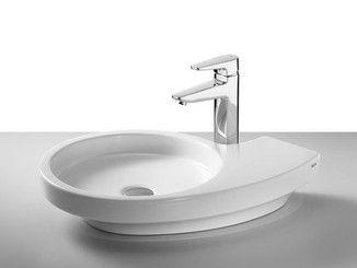 Lavabo Urbi 1 De Roca.Countertop Washbasin Urbi 3 Technical In 2019 Banos Rocas