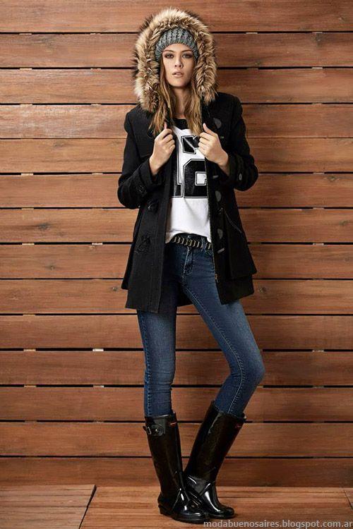 2015 Mujer Invierno Urbana Moda Otoño Indumentaria Kevingston En xSUHx