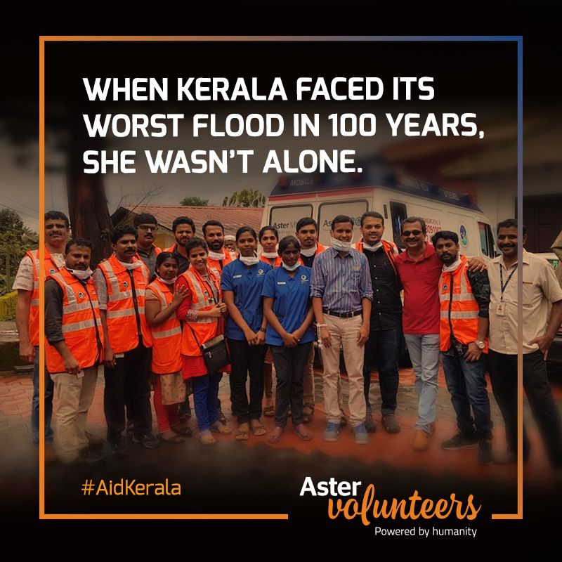 Astervolunteers Joined Thousands Of Others In Helping Restore Health And Hope To The Millions Affected By Kerala S Worst Floods Ai Funny Quotes Flood Kerala