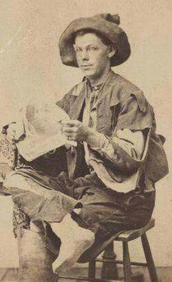 Unknown Confederate Prisoner at Point Lookout POW Camp in Maryland.