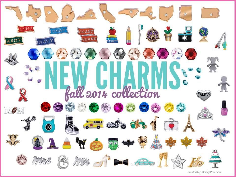 Current /& Retired 3 Authentic Origami Owl Charms