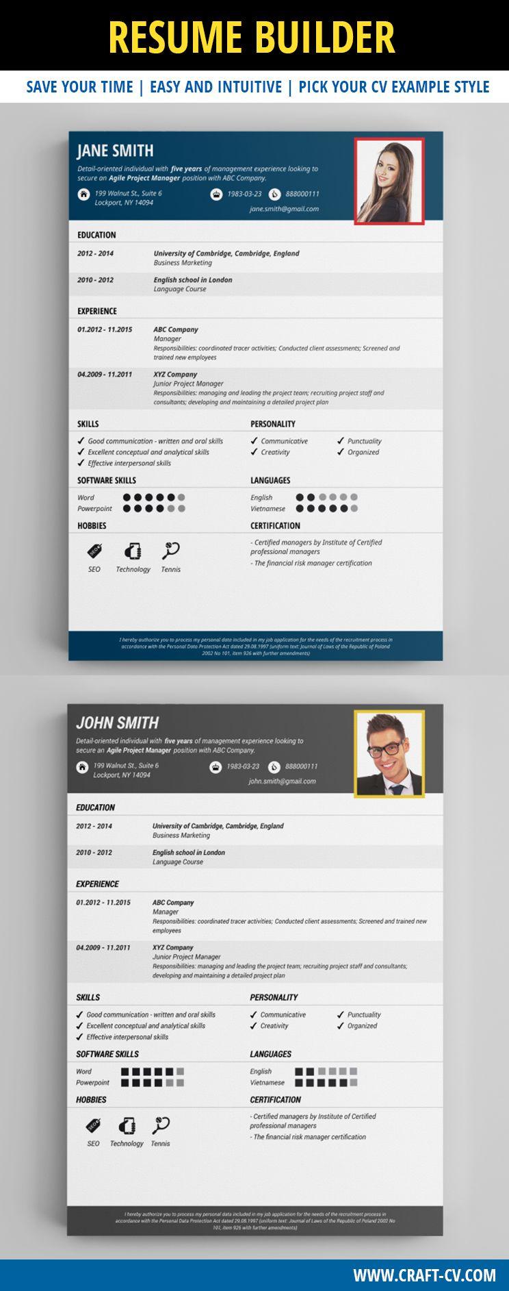 Simple Resume Resume Resumetemplate  Creative Cv Templates