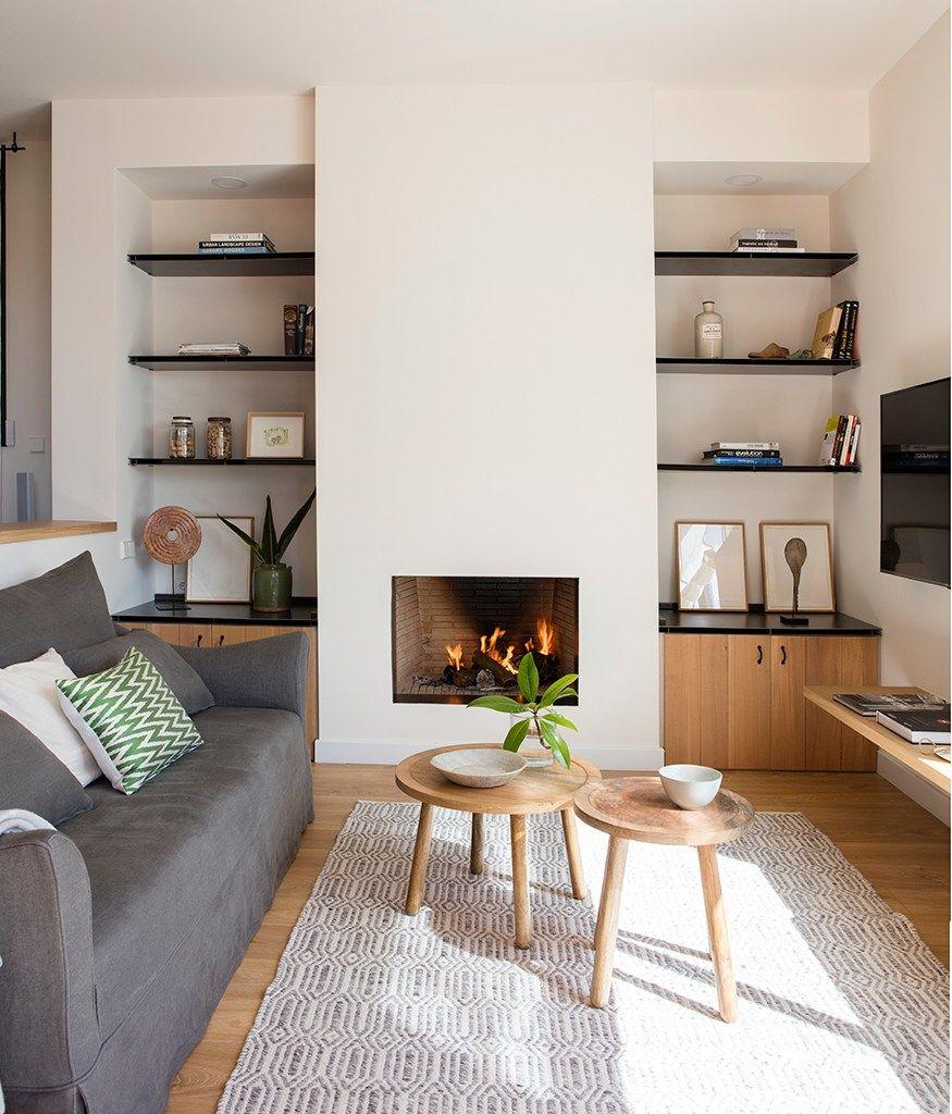 Une maison rénovée dans la région de Barcelone | Cheminées ...