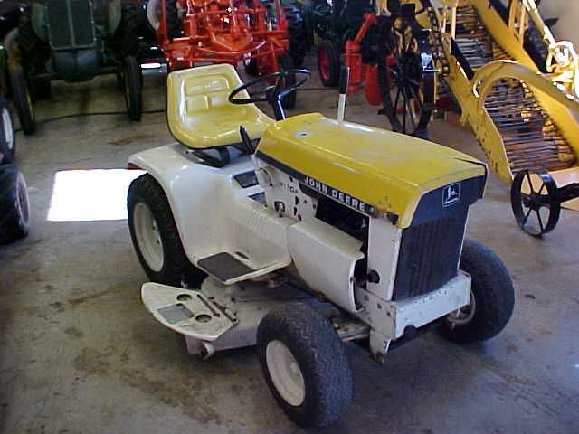 John Deere 110 Yellow Patio Tractor A Few Of My Past