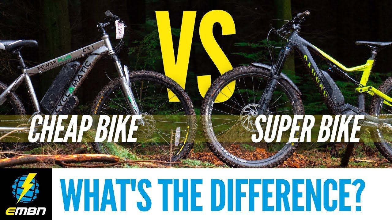 Cheap E Bike Vs Super E Mtb What S The Difference Ebike