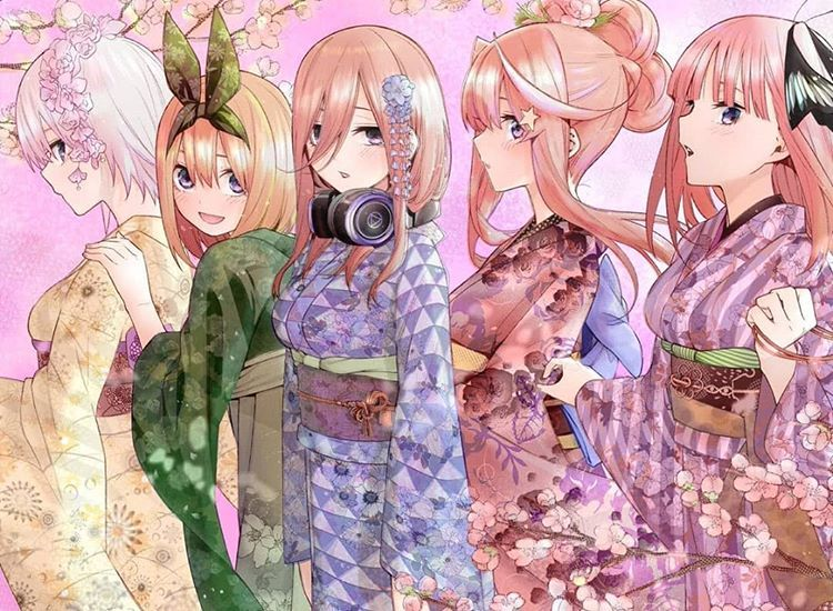 画像 五 の 花嫁 等 分 かわいい