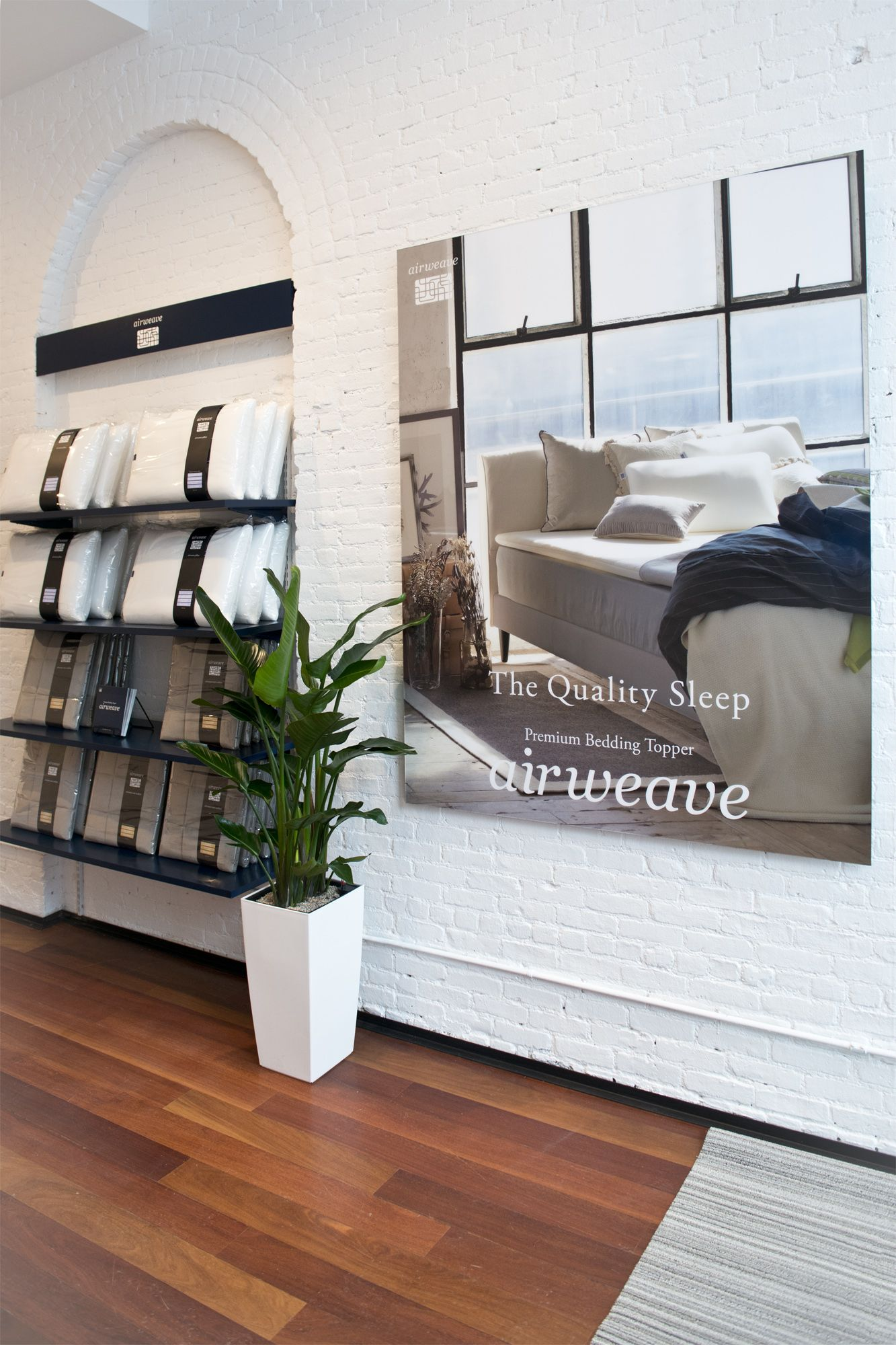 Airweave Mattress Topper Store In New York City 498 Broome St New York Ny 10013 646 964 5020 Www Airweave Com Premium Bedding Mattress Topper Mattress
