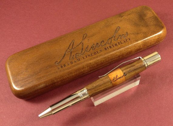 RelicPen made using relic wood from Abraham Lincoln's Birthplace