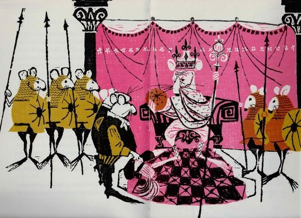 """Illustrations for """"Pavo and the Princess"""", 1964 – illustrated by Evaline Ness"""