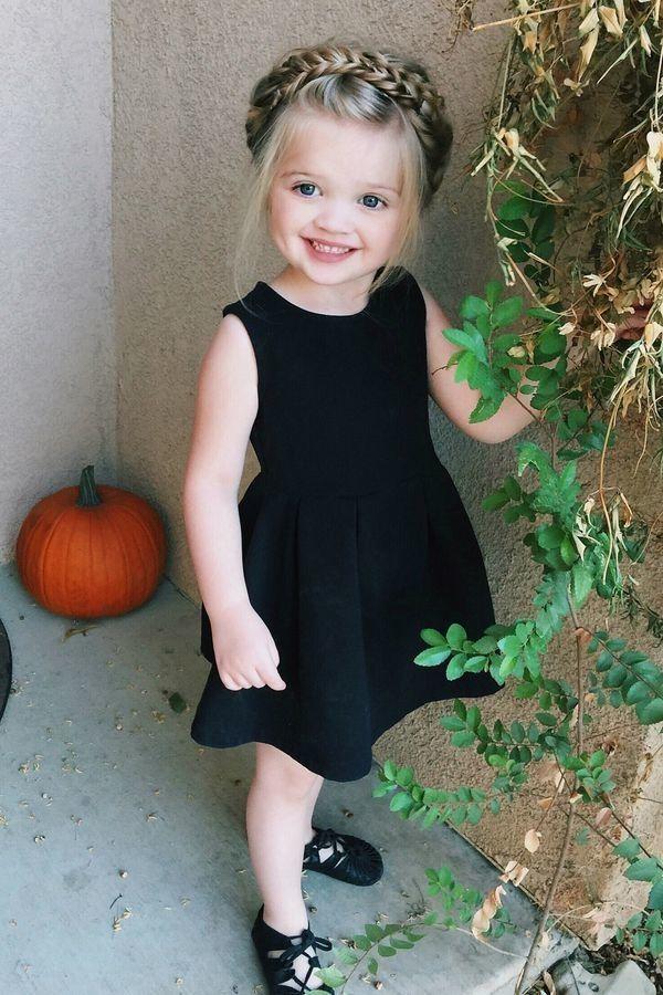 14 Magnifiques Coiffures Pour Petites Filles Coiffure