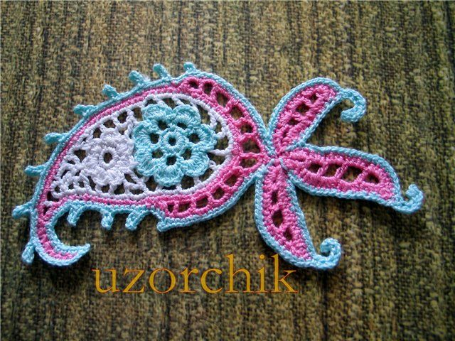 Crochet Paisley Patterns Craft Handmade Blog In Love With
