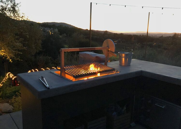 Clasico Grill Insert In 2020 Outdoor Kitchen Countertops Outdoor Kitchen Granite Countertops Kitchen