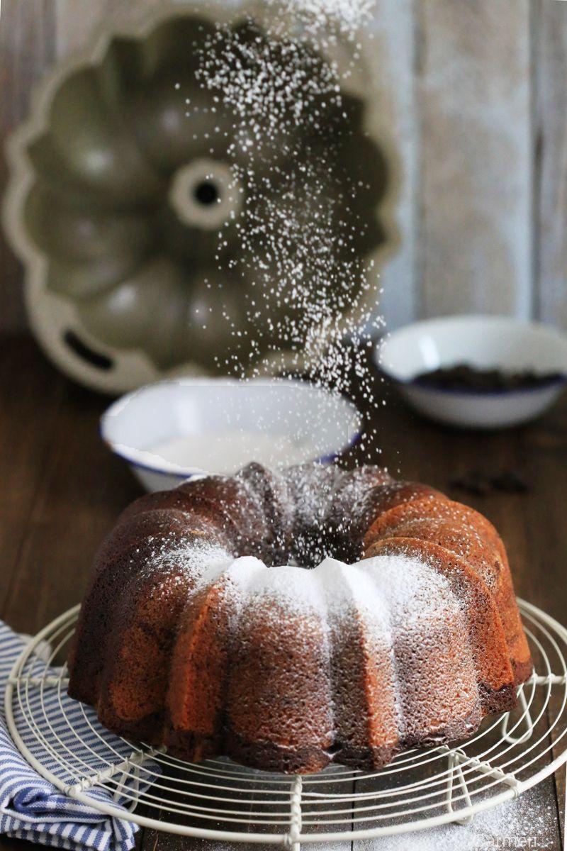 Bundt cake marmolado - No quieres caldo? ... Pues toma 2 tazas.