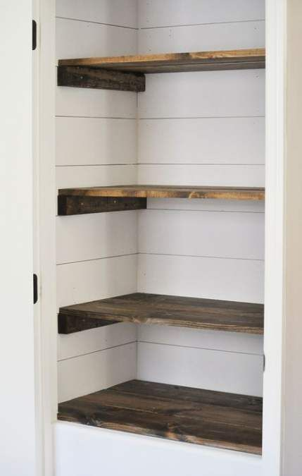 64+ Ideas For Walk In Closet Small Pantries #pantryshelving
