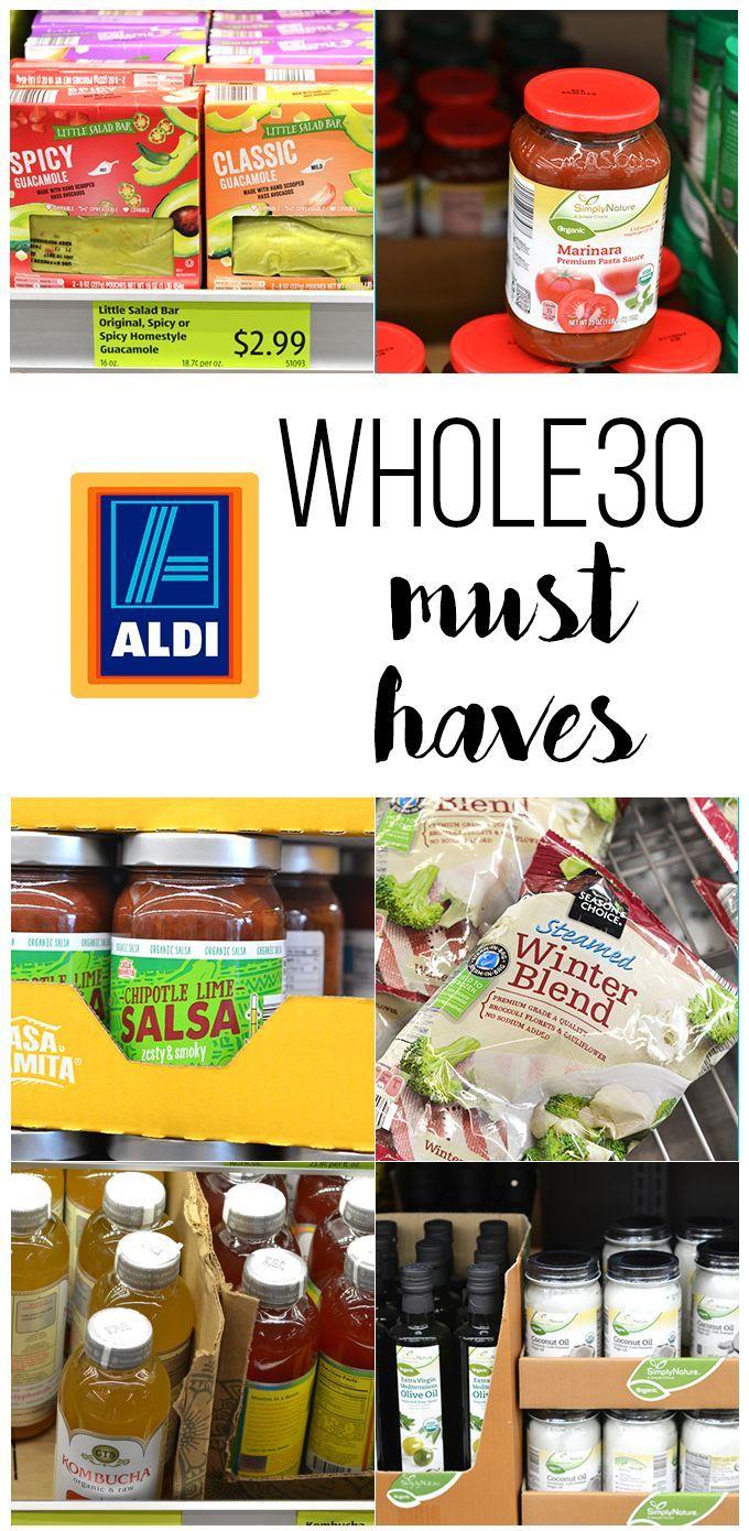Whole30 ALDI Must Haves   Aldi   Pinterest   Essen und Rezepte