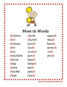 Phonic Words For Ukg