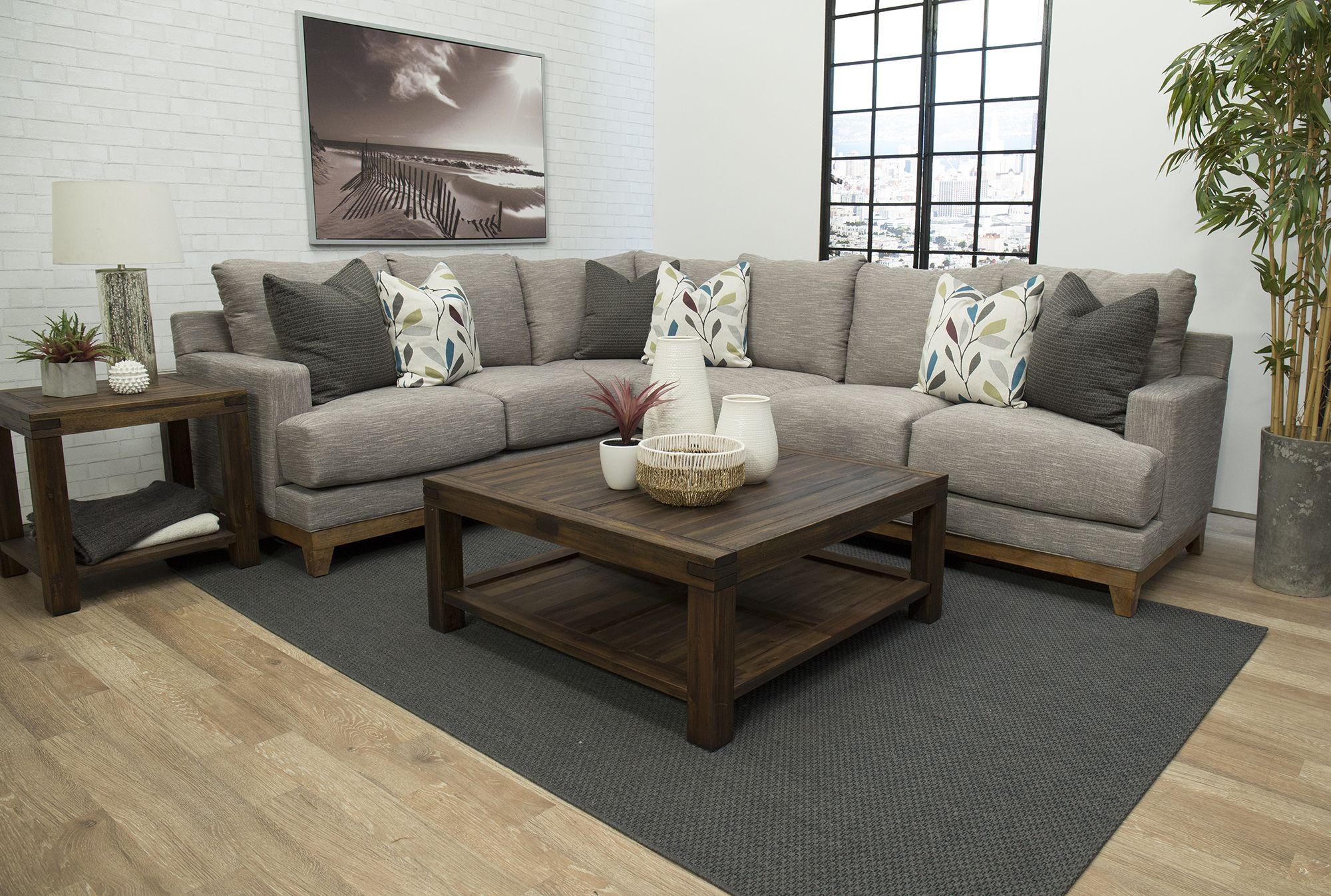 Gray Casual Contemporary 2 Piece Sectional Sofa Dayton Sectional Sofa 2 Piece Sectional Sofa Sectional