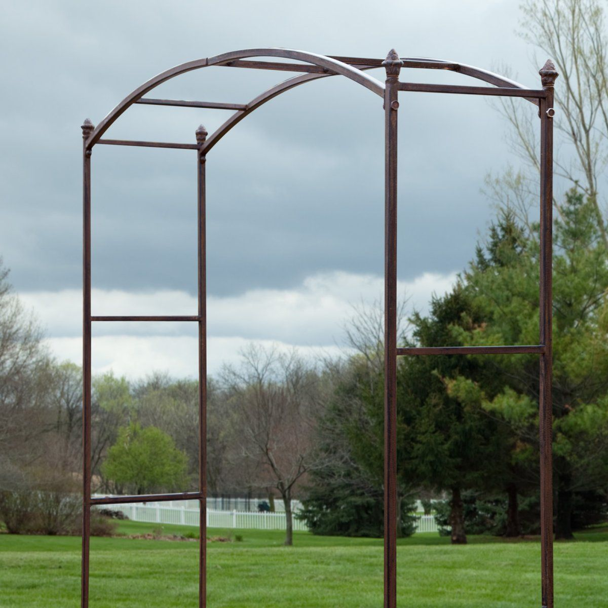 Acropolis Extra Wide Metal Arbor Arbors At Simply Arbors With