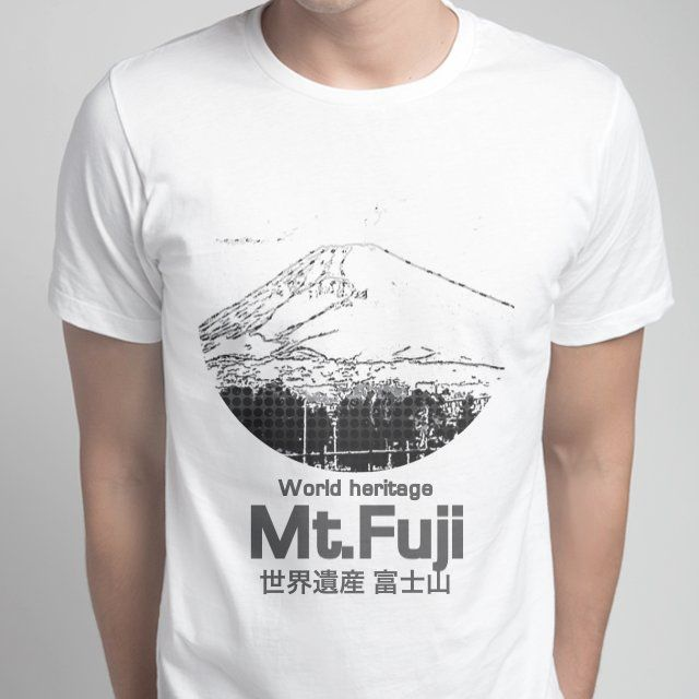 World heritage Mt.Fuji 世界遺産 富士山 #snaptee #tshirt