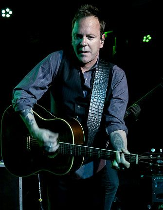 The Kiefer Sutherland Band concert review, The Dock, Ithaca