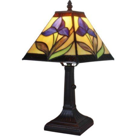 Amora Lighting Tiffany Style Am078tl08 14 5 Inch Floral Mini Table