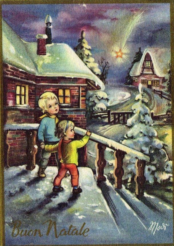 Immagini Natale Anni 70.Christmas Cards 3 Illustrazione Di Natale Immagini Di Natale Cartoline Di Natale