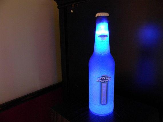 Wireless Bud Light Beer Sign 12 .OZ Neon Light Lamp by Garyslodge ...