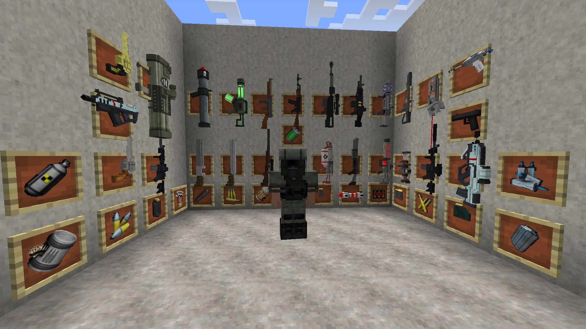 Techguns Mod for Minecraft 11.11.111  Minecraft, Minecraft