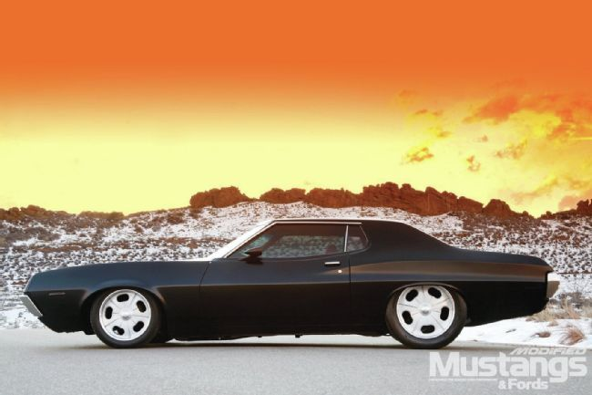 1972 Ford Gran Torino Modified Mustangs Fords Magazine Ford