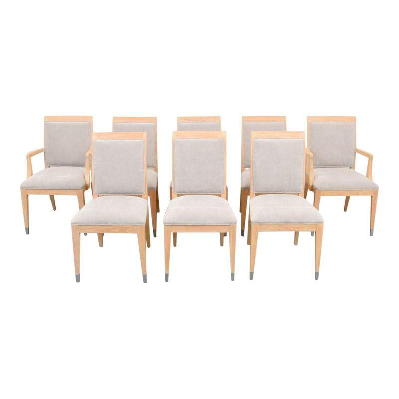 Jay Spectre Dining Chairs Set Of Eight Dining Room Chairs
