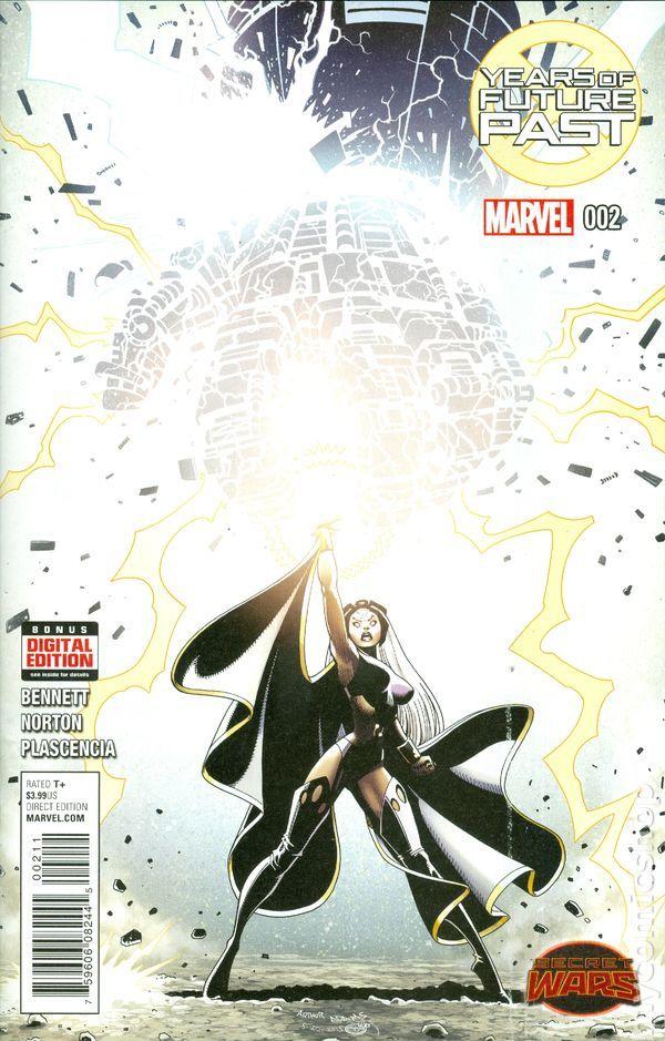 Years Of Future Past 2015 2a Marvek Comics Storm X Men Comic Book Cover Mutants Storm Marvel Comic Art Marvel