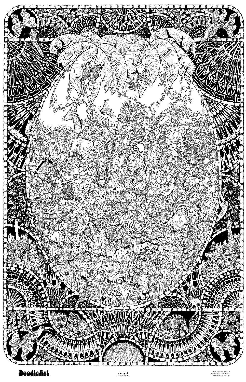 http://www.amazon.com/Original-DoodleArt-Jungle-Coloring-Poster/dp ...