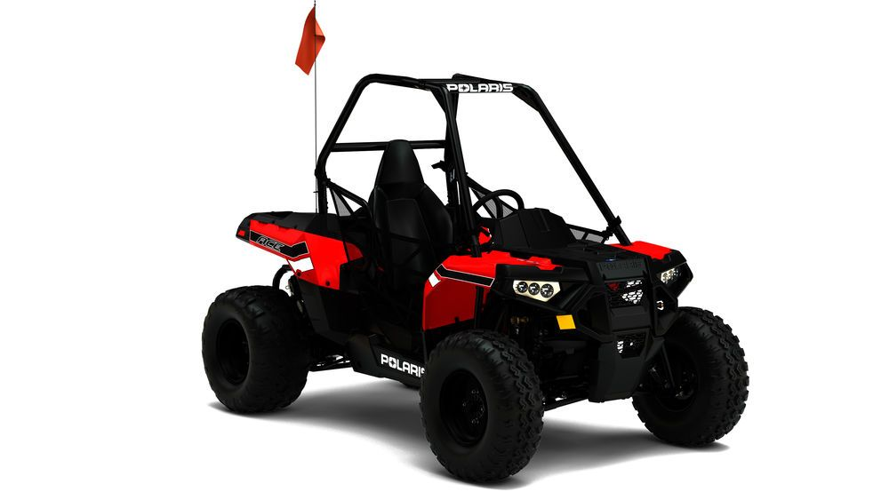 New 2017 Polaris ACE 150 EFI Single Seat Youth UTV